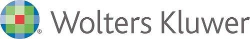Zdjęcie przedstawia logo Wolters Kluwer