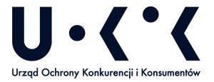 Zdjęcie przedstawia logo Urzędu Ochrony Konkurencji i Konsumentów